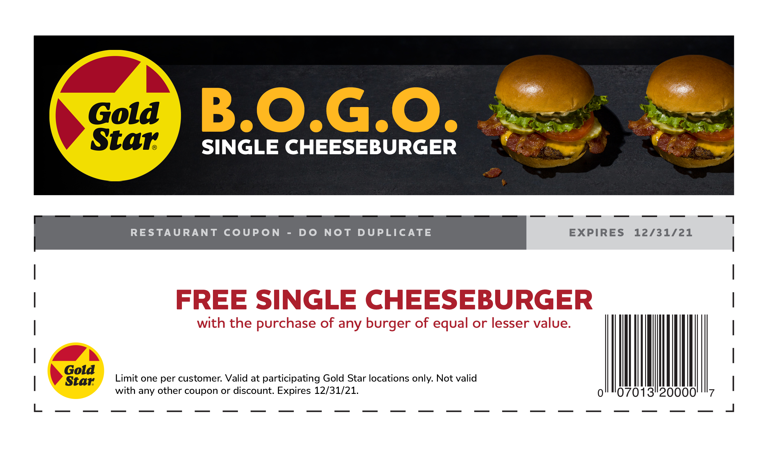 Burger Coupon